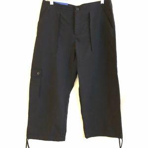 Patagonia Cropped Black Cargo Pants NWT sz 10